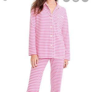 Jcrew Stripe Dreamy Cotton Pajamas